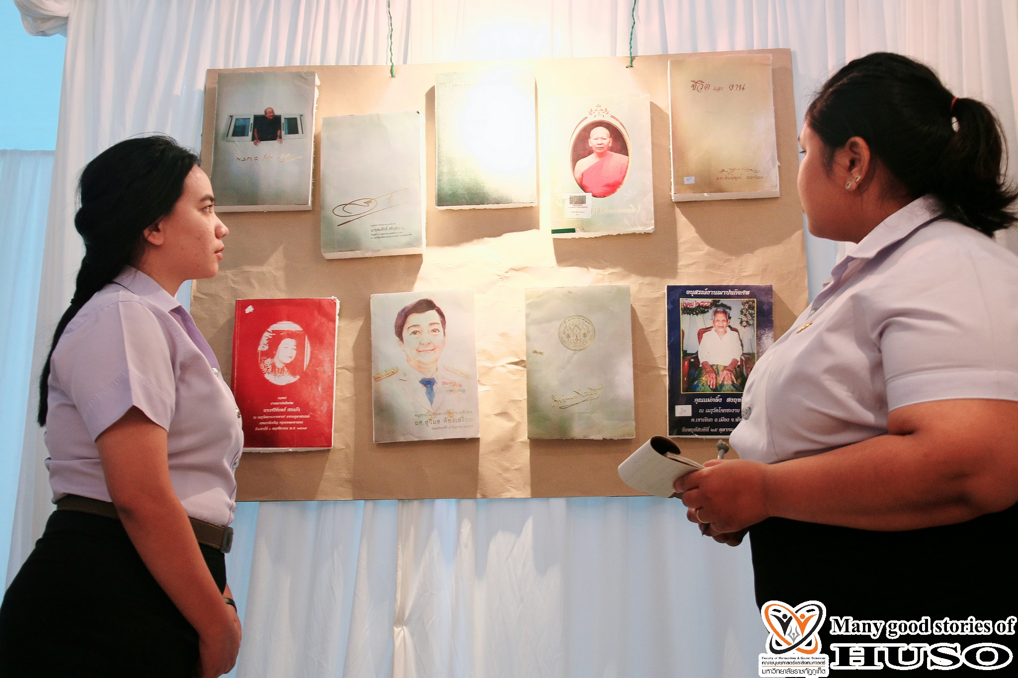 HUSO PKRU Information and Library Science Exhibition Book of Memorial and Knowledge Tung Lanna 9
