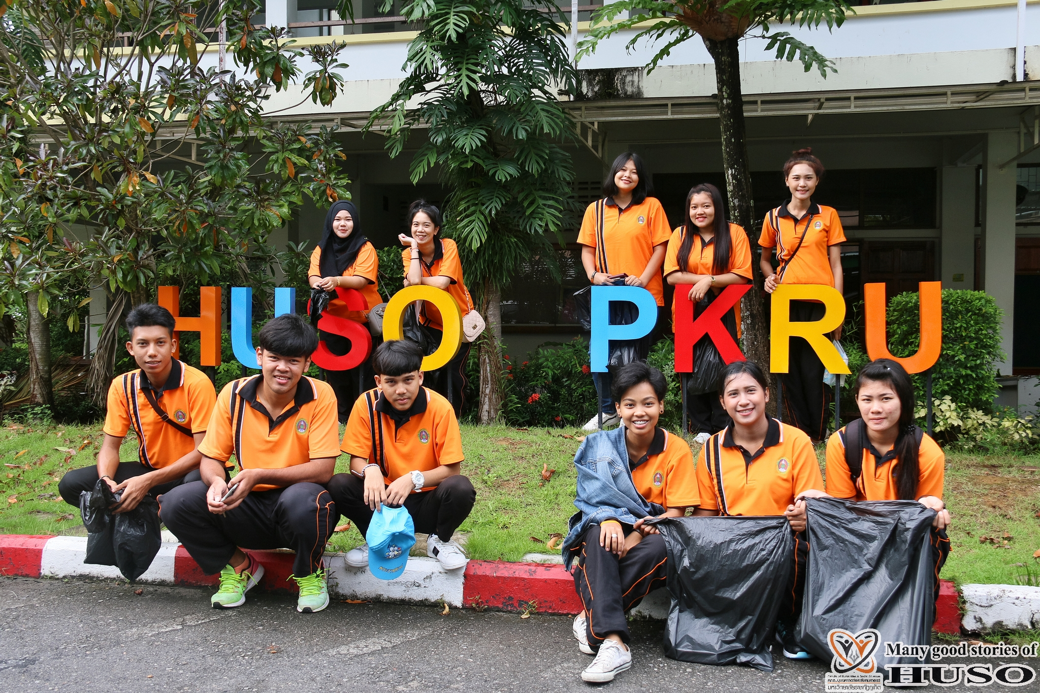 HUSO PKRU Keep Phuket Clean by our hands and Hearts 5 July 2018 1