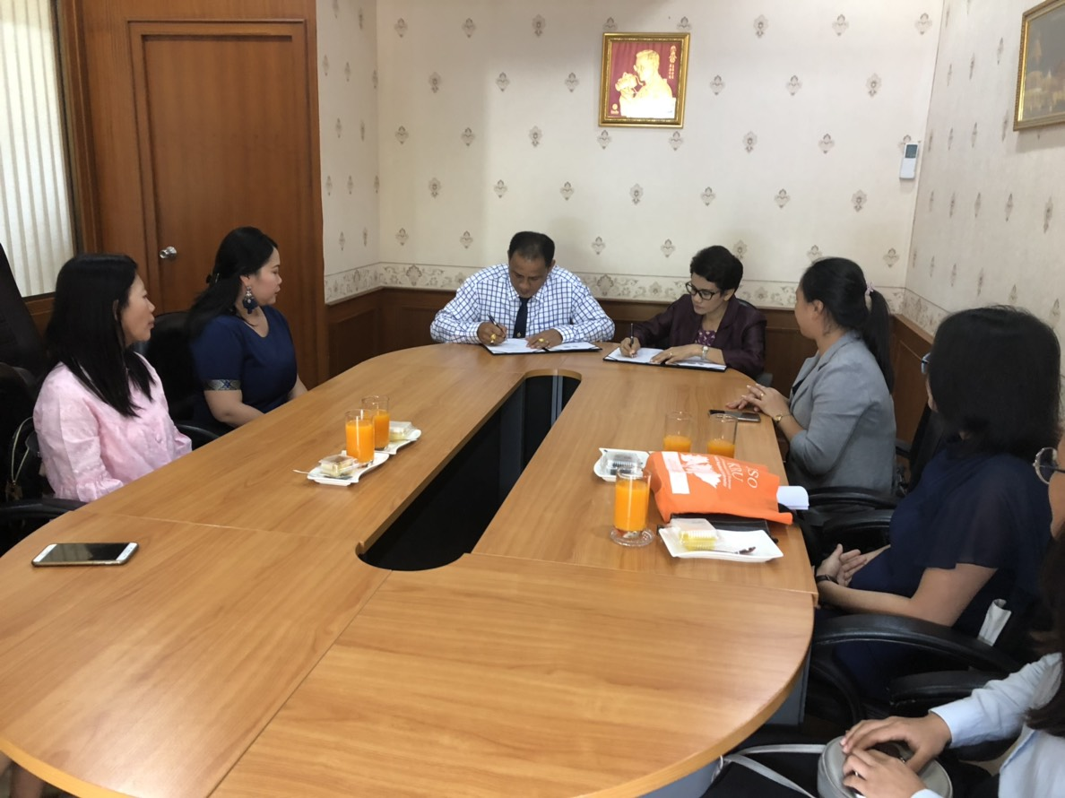 HUSO PKRU Chinese for Communication MOU Muangthalang School 11 DEC 2018 4