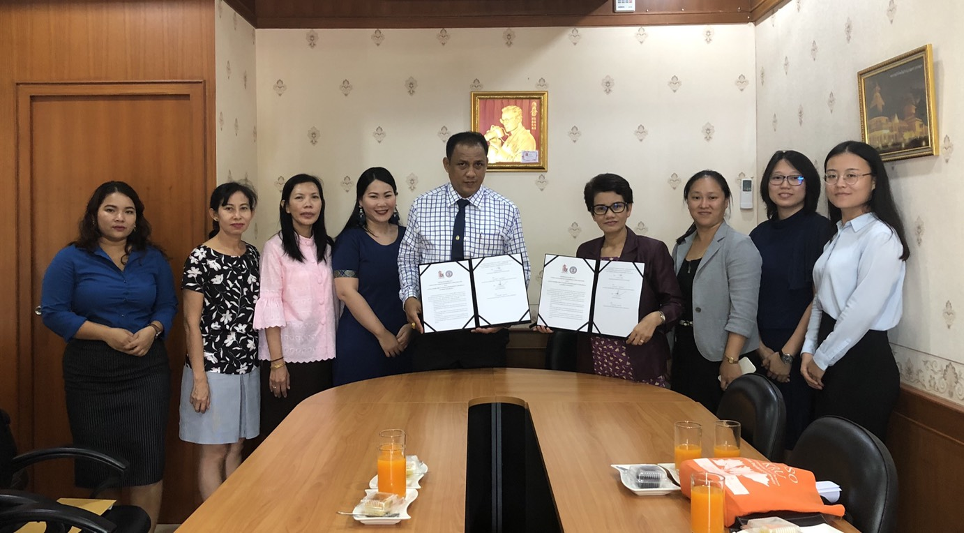 HUSO PKRU Chinese for Communication MOU Muangthalang School 11 DEC 2018 5