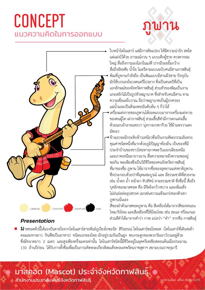 HUSO PKRU Visual Arts Mascot Dinosaur Design contest 15 January 2018 2