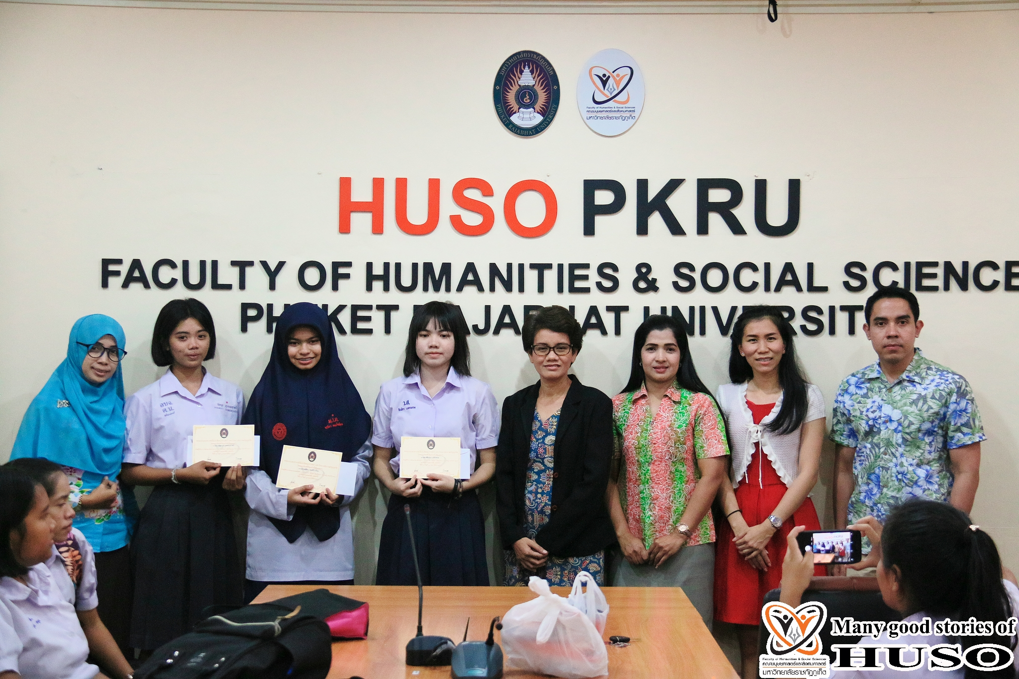 HUSO PKRU Thai Program Academic Skills Competition Thai Handwriting 15 February 2018 12