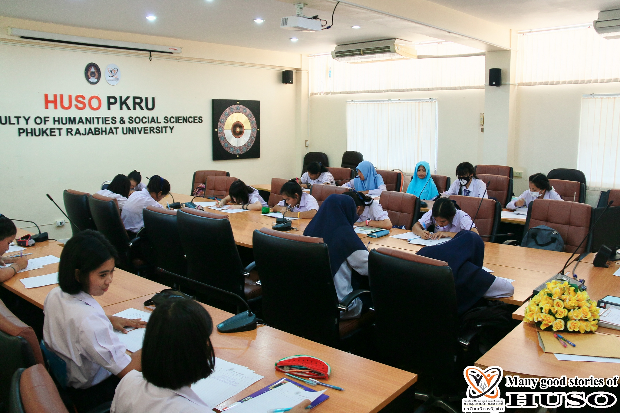 HUSO PKRU Thai Program Academic Skills Competition Thai Handwriting 15 February 2018 2