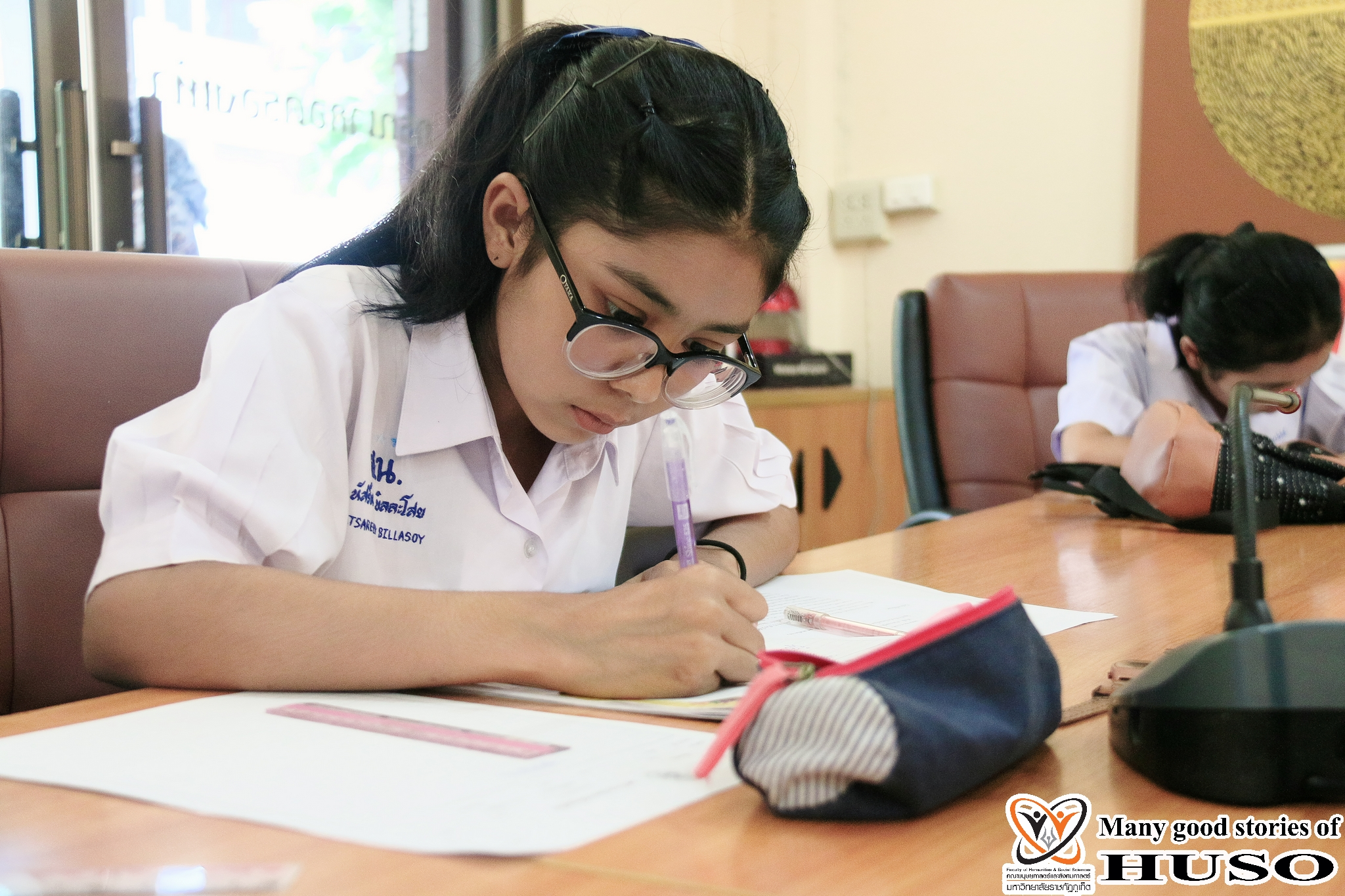 HUSO PKRU Thai Program Academic Skills Competition Thai Handwriting 15 February 2018 3