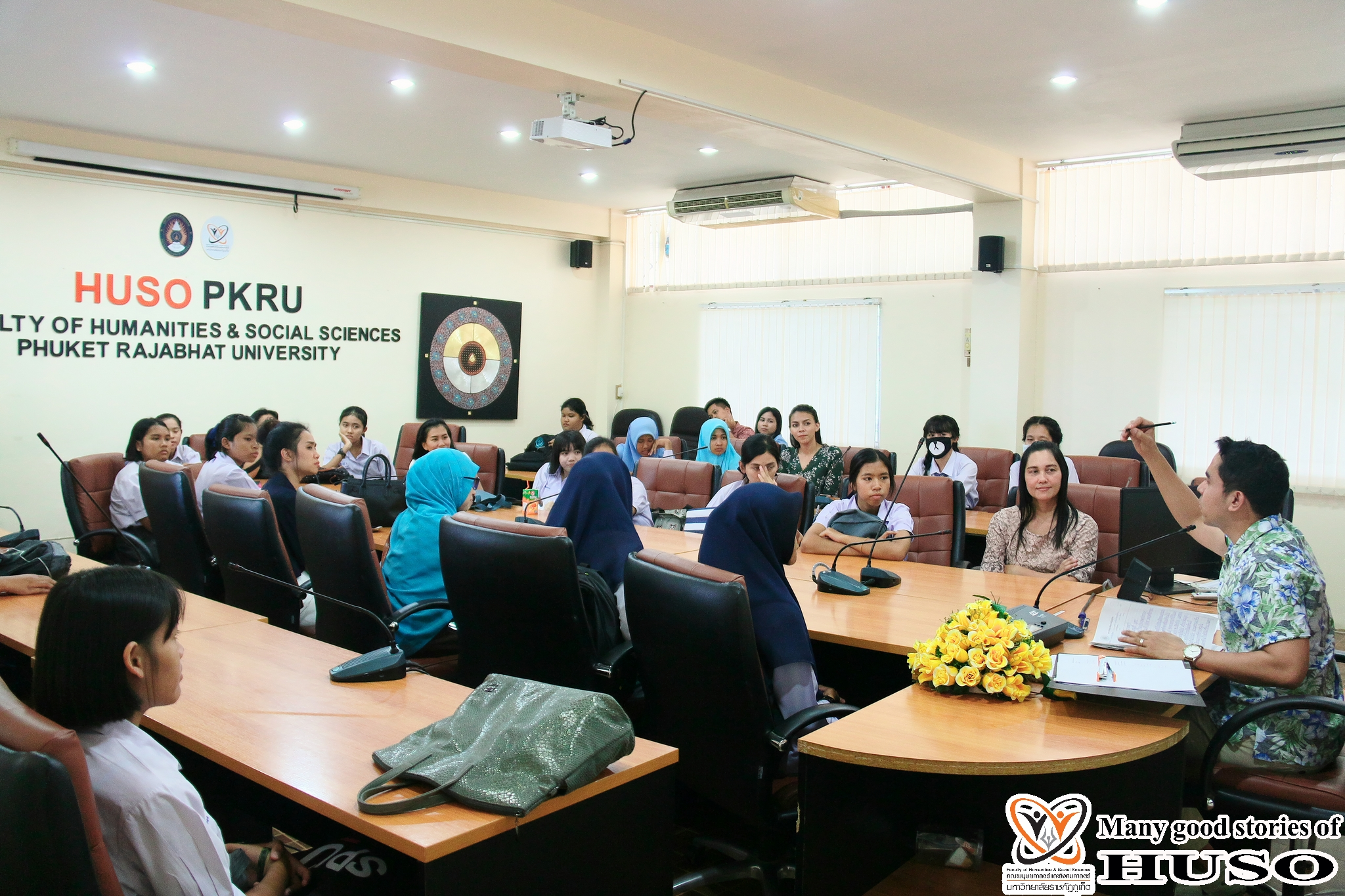 HUSO PKRU Thai Program Academic Skills Competition Thai Handwriting 15 February 2018 8
