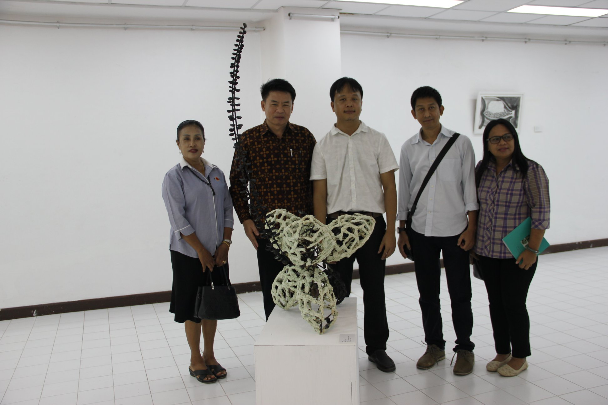 HUSO PKRU Visual Arts Exhibition Structure of Life Institute for Southern Thai Studies Thaksin University Songla 18 May 2018 10