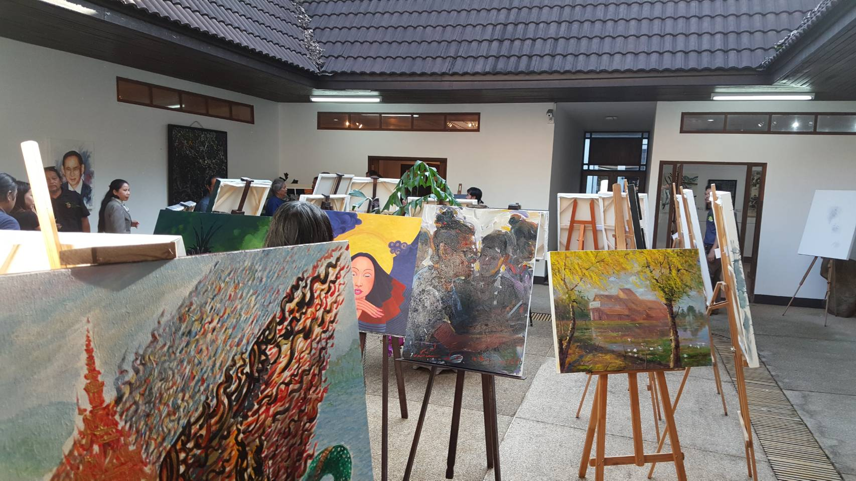 HUSO PKRU CRRU INTERNATIONAL ART WORKSHOP 13 June 2018 2